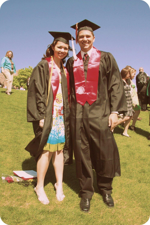 Al and Ben graduate